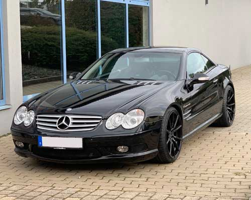 Mercedes SL55AMG